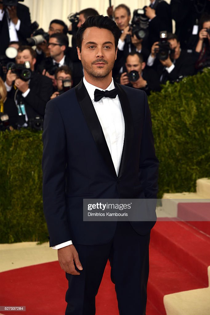 Jack Huston attends the 'Manus x Machina: Fashion In An Age Of Technology' Costume Institute Gala at Metropolitan Museum of Art on May 2, 2016 in New York City.