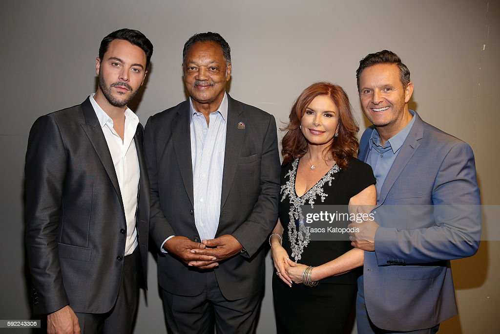 Jack Huston Jesse Jackson Roma Downey and Mark Burnett attend the Chicago Screening of the Paramount Pictures and MetroGoldwynMayer Pictures title...