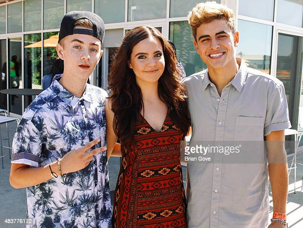 Jack Johnson Bailee Madison and Jack Gilinsky attend The 5th Annual Streamy Awards Nomination Celebration at Annenberg Community Beach House on...