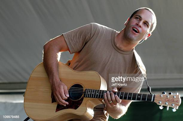 Jack Johnson during 2005 New Orleans Jazz and Heritage Festival Day 1 at 2005 New Orleans Jazz Festival in New Orleans Louisana United States