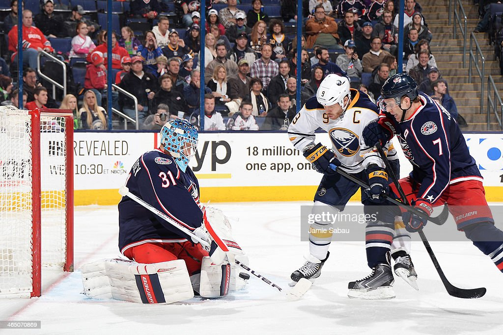 Buffalo Sabres v Columbus Blue Jackets Photos and Images | Getty ...