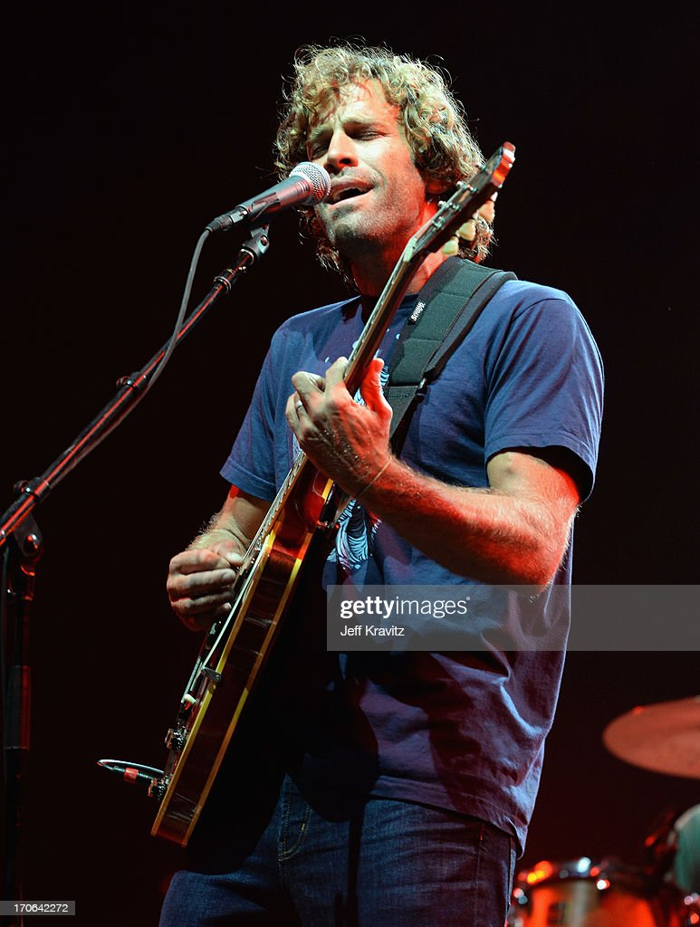 Jack Johnson performs at What Stage during day 3 of the 2013 Bonnaroo Music & Arts Festival on June 15, 2013 in Manchester, Tennessee.