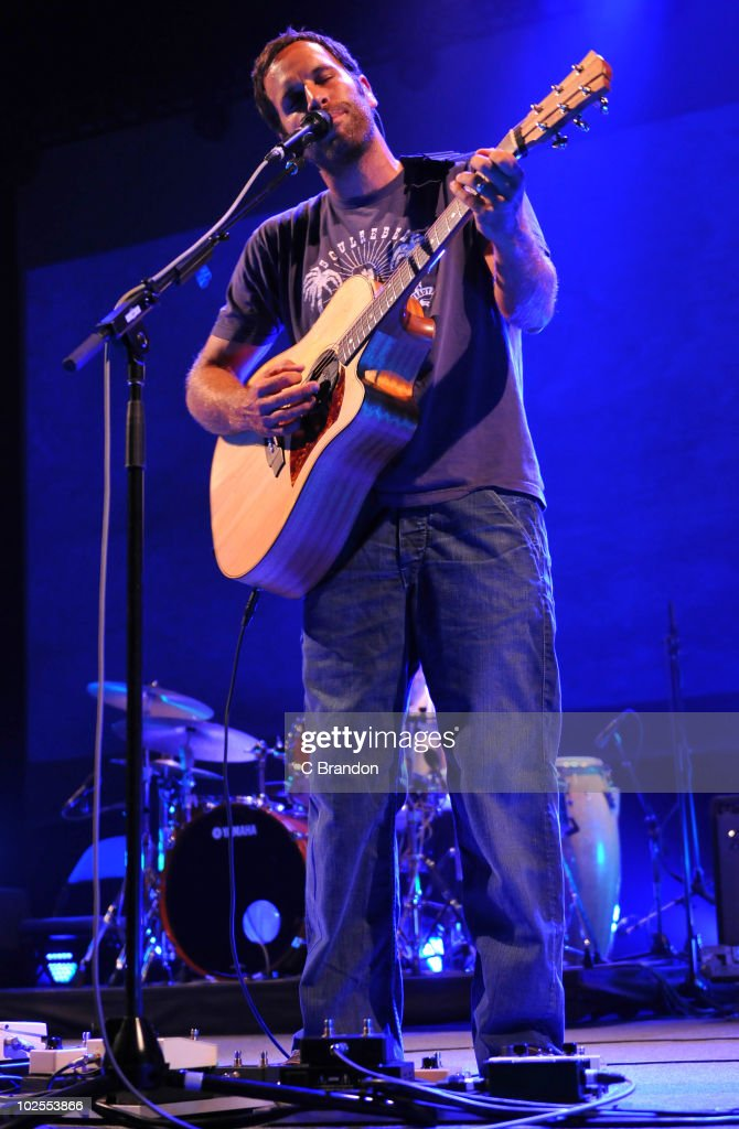 Jack Johnson performs on stage at O2 Arena on June 30, 2010 in London, England.