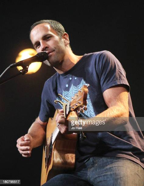 Jack Johnson performs on stage on Day 16 of iTunes Festival 2013 at The Roundhouse on September 16 2013 in London England