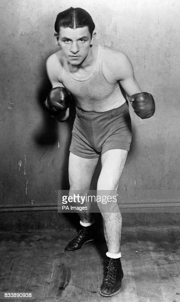 Jack 'Kid' Berg a boxer from the East End of London aka 'The Whitechapel Whirlwind'