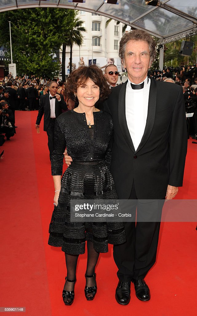 Jack Lang and his wife at the premiere of ?Robin Hood? during the 63rd Cannes International Film Festival.