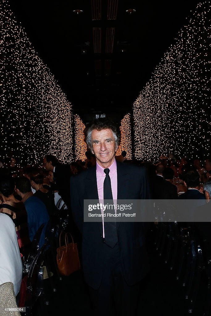 Jack Lang attends the Dinner for Honored Designer Driess Van Notten Officier des Arts et Lettres by Jack Lang at Institut du Monde Arabe on June 26, 2015 in Paris, France.