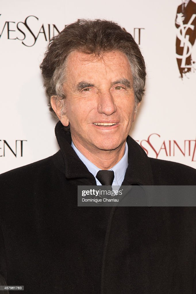 <a gi-track='captionPersonalityLinkClicked' href=/galleries/search?phrase=Jack+Lang&family=editorial&specificpeople=220296 ng-click='$event.stopPropagation()'>Jack Lang</a> attends the 'Yves Saint Laurent' Paris Premiere at Cinema UGC Normandie on December 19, 2013 in Paris, France.