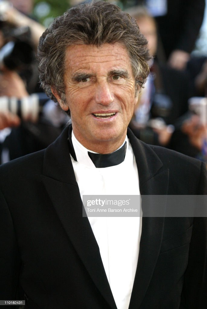<a gi-track='captionPersonalityLinkClicked' href=/galleries/search?phrase=Jack+Lang&family=editorial&specificpeople=220296 ng-click='$event.stopPropagation()'>Jack Lang</a> during 2003 Cannes Film Festival - 'Tulse Luper Suitcases' Premiere at Palais des Festivals in Cannes, France.
