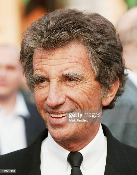 Jack Lang is seen at the official start of the Socialists' European election campaign on April 14 2004 in Brussels Belgium