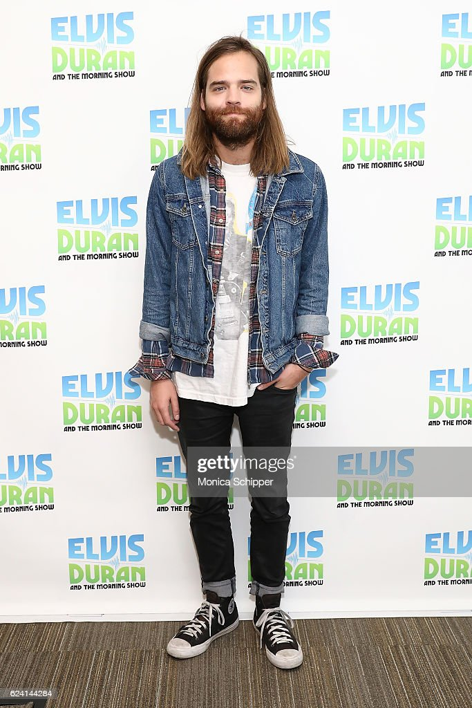 Jack Lawless of band DNCE poses for a photo when DNCE visit 'The Elvis Duran Z100 Morning Show' at Z100 Studio on November 18, 2016 in New York City.