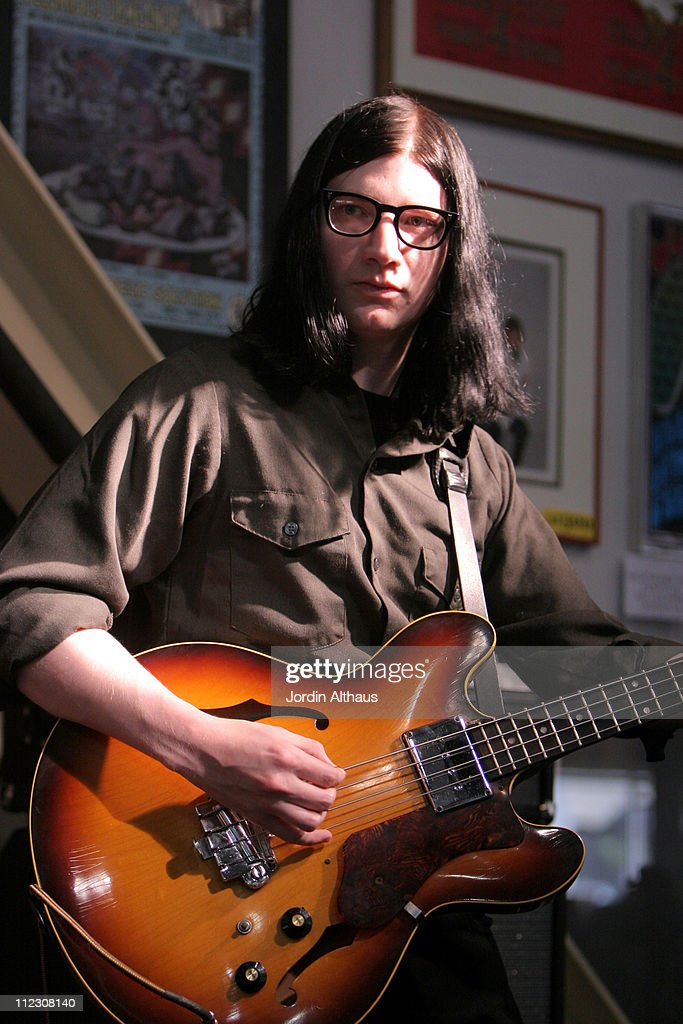 Jack Lawrence of The Raconteurs during The Raconteurs In-Store Performance at Amoeba Music - June 8, 2006 at Amoeba Music in Hollywood, California, United States.