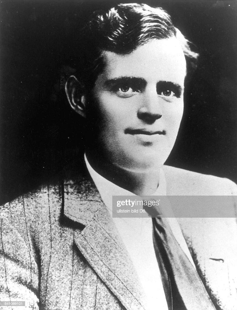 Jack London*12011876Schriftsteller USA Portrait ohne Jahr