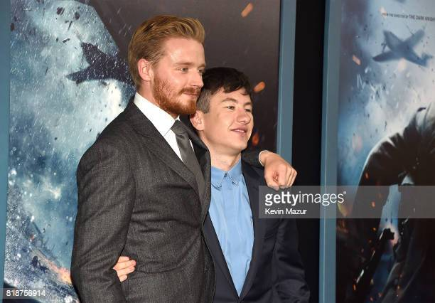 Jack Lowden and Barry Keoghan attend the 'DUNKIRK' premiere in New York City