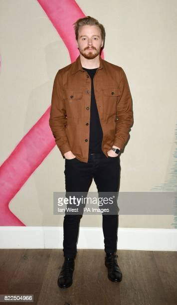 Jack Lowden arrives for a screening of England Is Mine at the Ham Yard Hotel in London