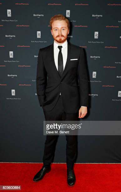 Jack Lowden attends the global debut of the new RollsRoyce Phantom at Bonhams on July 27 2017 in London England