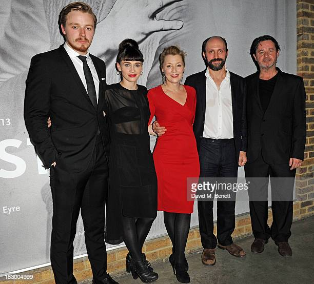 Jack Lowden Charlene McKenna Richard Eyre Lesley Manville Will Keen and Brian McCardi attends an after party following the press night performance of...