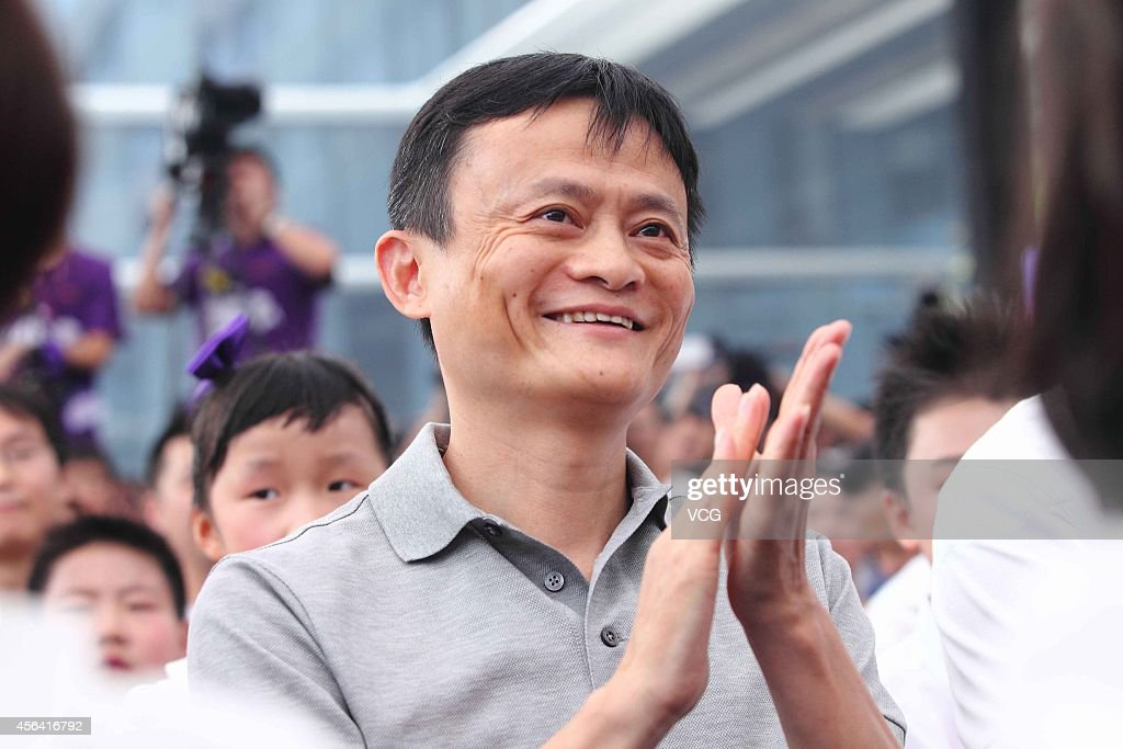 <a gi-track='captionPersonalityLinkClicked' href=/galleries/search?phrase=Jack+Ma&family=editorial&specificpeople=2110288 ng-click='$event.stopPropagation()'>Jack Ma</a>, chairman of Alibaba Group attends 'World Heart Day' commonweal activity at the headquaters of Alibaba Group on September 28, 2014 in Hangzhou, Zhejiang province of China. <a gi-track='captionPersonalityLinkClicked' href=/galleries/search?phrase=Jack+Ma&family=editorial&specificpeople=2110288 ng-click='$event.stopPropagation()'>Jack Ma</a>, chairman of Alibab Group donates 11 millions RMB when attending Ai You Foundation after returning from the United States in Hangzhou.