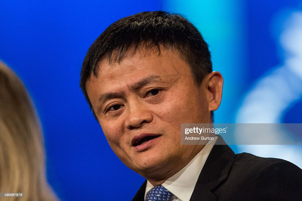 <a gi-track='captionPersonalityLinkClicked' href=/galleries/search?phrase=Jack+Ma&family=editorial&specificpeople=2110288 ng-click='$event.stopPropagation()'>Jack Ma</a>, executive chairman of Alibaba Group, speaks at the Clinton Global Initiative's closing session on September 29, 2015 in New York City. The Clinton Global Initiative, happening simultaneously with the United Nation's General Assembly, invites leaders from politics, business and culture to discuss world issues.