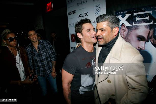 Jack MacEnroth and Mike Ruiz attend XEX MAGAZINE Issue 2 Release Party at SL on February 7 2010 in New York