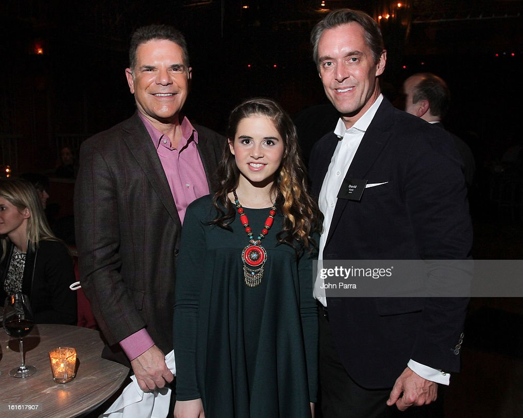Jack Mayers, Carly Rose Senenclar and David Kohl attend the ANA Board Dinner Presented By VEVO at The Darby on February 12, 2013 in New York City.