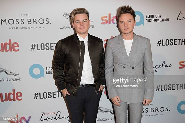 Jack Maynard and Conor Maynard attend the 2016 Attitude Magazine Awards on October 10 2016 in London England