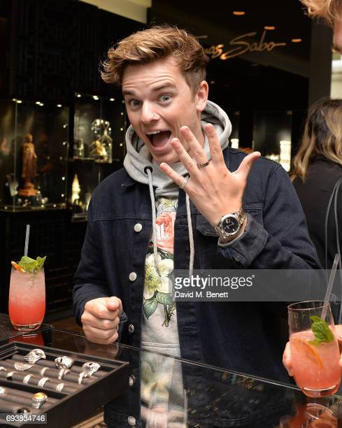 Jack Maynard attends the Thomas Sabo AW17 collection launch at their Flagship store on South Molton Street on June 8 2017 in London England