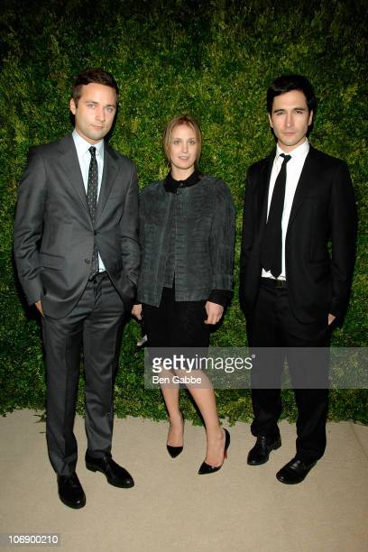 Jack McCollough Victoria Traina and Lazaro Hernandez attend the 7th Annual CFDA/Vogue Fashion Fund Awards at Skylight SOHO on November 15 2010 in New...