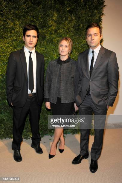 Jack McCollough Victoria Traina and Lazaro Hernandez attend The Seventh Annual CFDA / VOGUE Fashion Fund Award at Skylight Soho on November 15 2010...