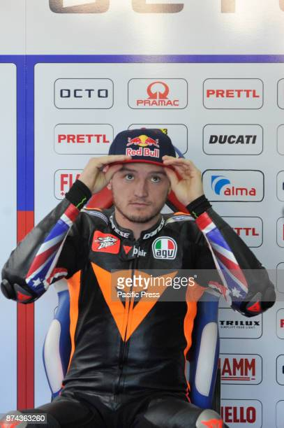 Jack Miller during Motogp test day at Valencia circuit