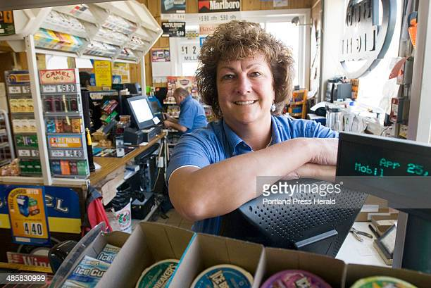 Friday April 25 2008 Lisa Brady is the coowner of Oak Hill Mobil Mart in Scarborough where rising gasoline prices affect her business