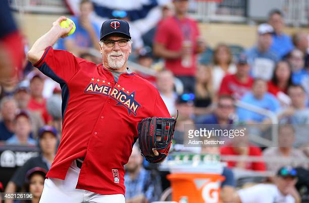 Jack Morris at the 2014 MLB AllStar legends and celebrity softball game on July 13 2014 at the Target Field in Minneapolis Minnesota
