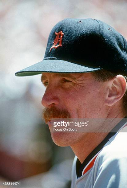 Jack Morris of the Detroit Tigers looks on during an Major League Baseball game circa 1989 Morris played for the Tigers from 197790