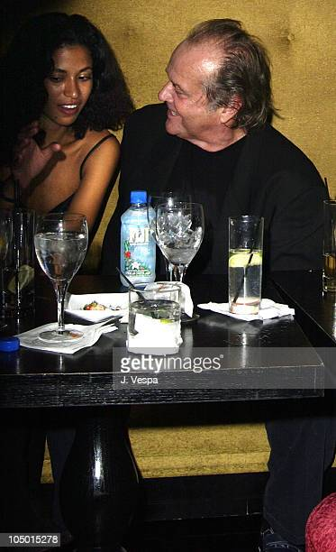 Jack Nicholson and party guest during 'About Schmidt' Premiere AfterParty at Man Ray at Man Ray in New York New York United States