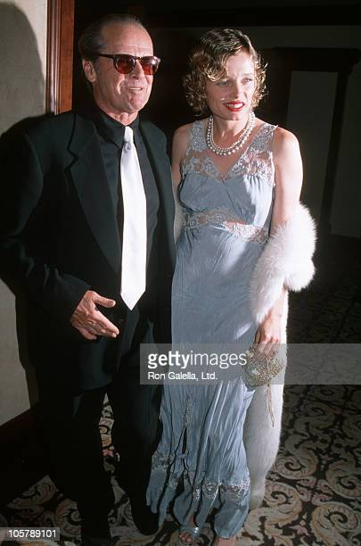 Jack Nicholson and Rebecca Broussard during National Conference of Christians and Jews April 23 1997 at Century Plaza Hotel in Century City...