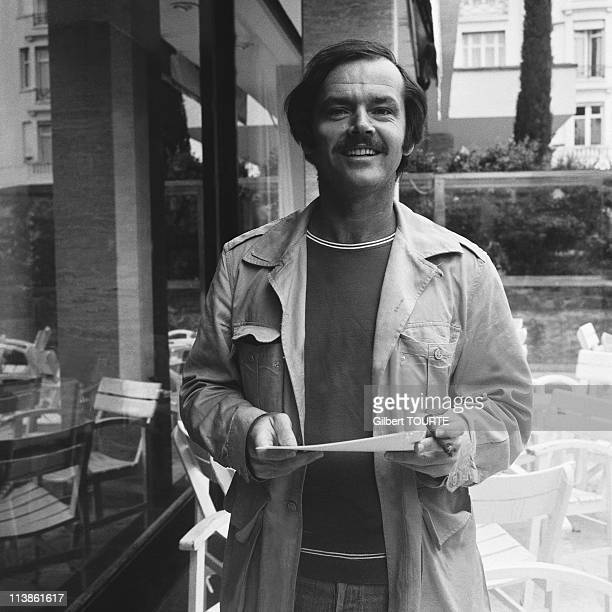 Jack Nicholson at Cannes Film Festival in 1971 in Cannes France
