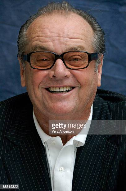 Jack Nicholson at 'The Bucket List' press conference at the Four Seasons Hotel on December 4 2007 in Beverly Hills California
