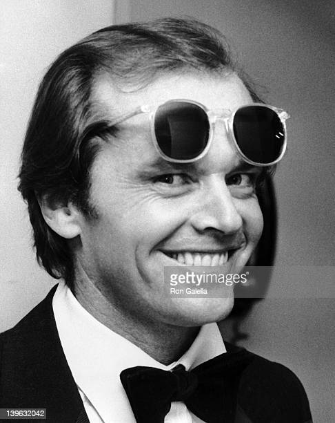 Jack Nicholson attends 50th Annual Academy Awards on April 3 1978 at the Dorothy Chandler Pavilion in Los Angeles California