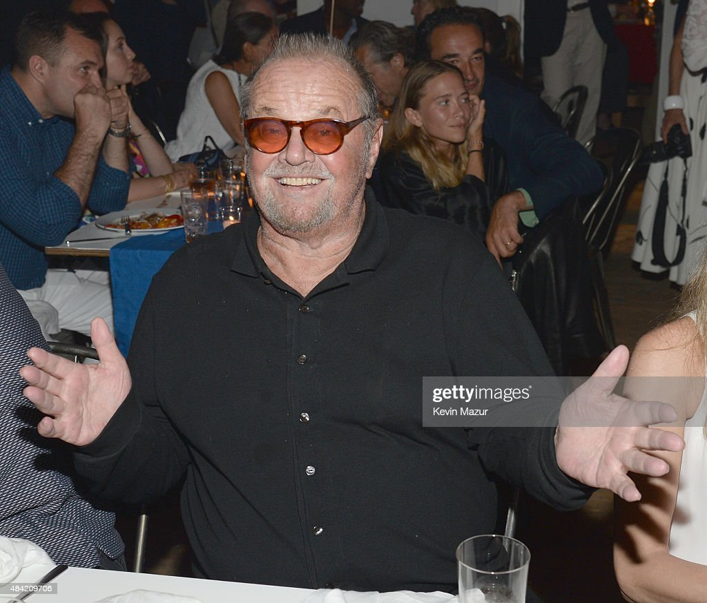 <a gi-track='captionPersonalityLinkClicked' href=/galleries/search?phrase=Jack+Nicholson&family=editorial&specificpeople=91177 ng-click='$event.stopPropagation()'>Jack Nicholson</a> attends Apollo in the Hamptons 2015 at The Creeks on August 15, 2015 in East Hampton, New York.