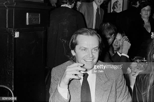 Jack Nicholson closeup circa 1970 New York