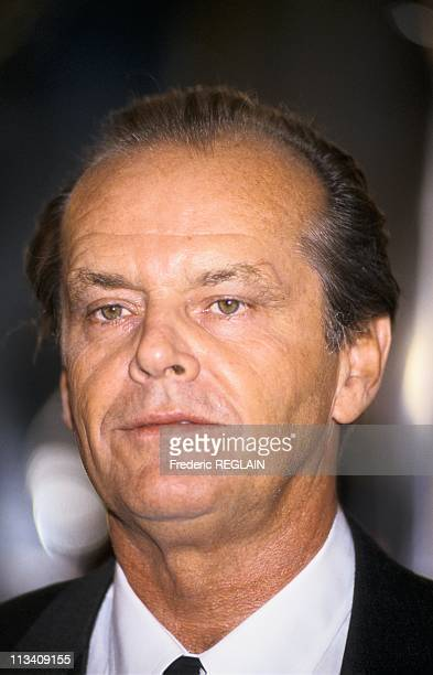 Jack Nicholson Decorated By Jack Lang On October 9th In ParisFrance