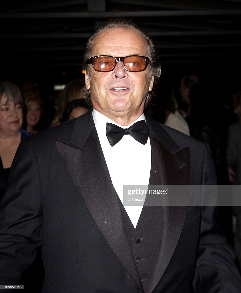 Jack Nicholson during 40th New York Film Festival - Opening Night - 'About Schmidt ' Premiere at Avery Fisher Hall, Lincoln Center in New York, New York, United States.
