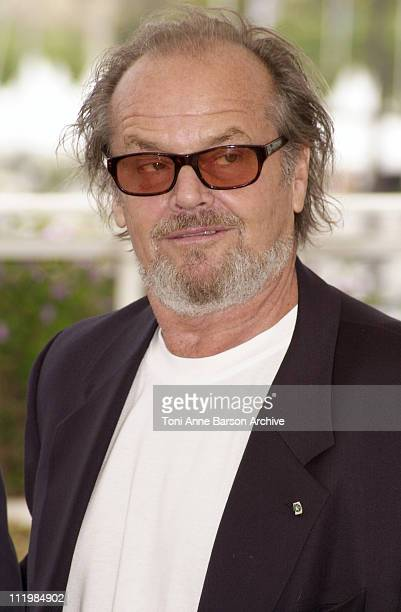 Jack Nicholson during Cannes 2002 'About Schmidt' Photo Call at Palais des Festivals in Cannes France