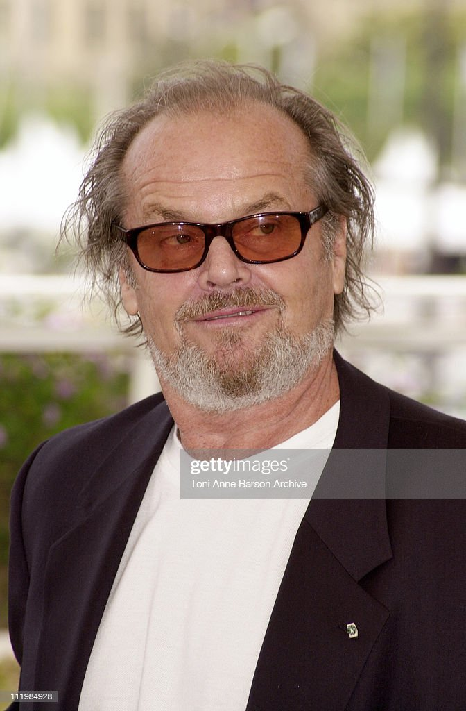<a gi-track='captionPersonalityLinkClicked' href=/galleries/search?phrase=Jack+Nicholson&family=editorial&specificpeople=91177 ng-click='$event.stopPropagation()'>Jack Nicholson</a> during Cannes 2002 - 'About Schmidt' Photo Call at Palais des Festivals in Cannes, France.