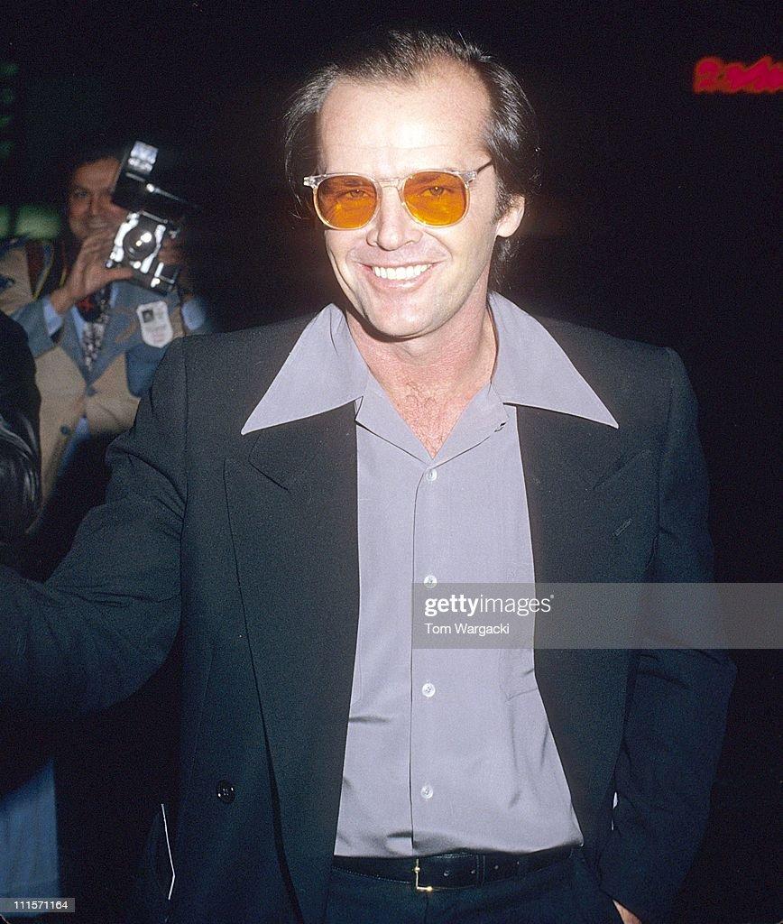 Jack Nicholson during ...