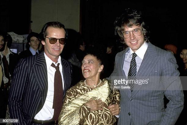Jack Nicholson Mabel Mercer and Warren Beatty