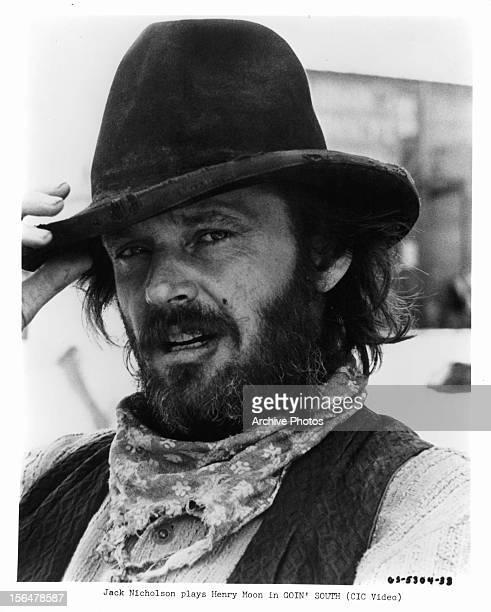 Jack Nicholson publicity portrait for the film 'Goin' South' 1978