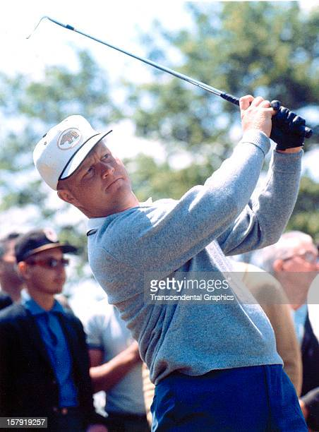 Jack Nicklaus is on the fairway at the Thunderbird Classic on June of 1965 in Clifton New Jersey