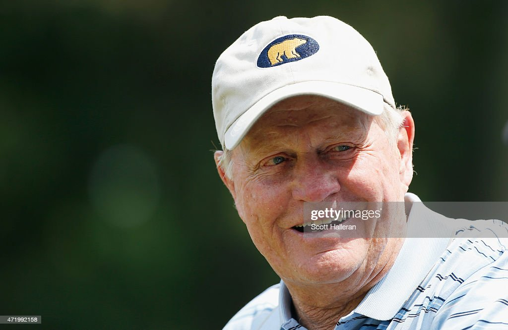 <b>Jack Nicklaus</b> waits on a tee box during the 3M Greats of Golf at the <b>...</b> - jack-nicklaus-waits-on-a-tee-box-during-the-3m-greats-of-golf-at-the-picture-id471992158