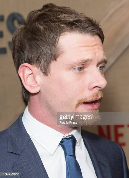 Jack O'Connell attends Netflix Godless premiere at Metrograph